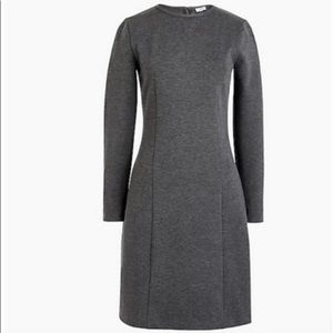 J Crew dress, gray, size 4. New with tags.